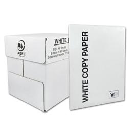 2500 Blatt (5 x 500 Seiten/Blätter) Laser- Tintenstrahl, Fotokopierpapier und Druckerpapier, DIN A4, 80g/m² -