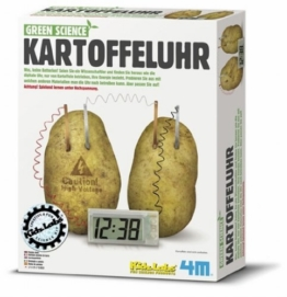 4M 663275 - Green Science - Kartoffeluhr -