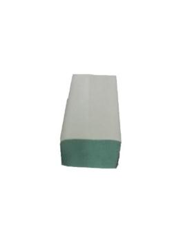 5000 Papierhandtücher 25x23 cm ZZ-Falz grün 1-lg. Papiertücher -