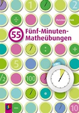 55 Fünf-Minuten-Matheübungen -