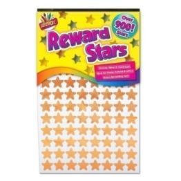 900x Reward Star Sticker Belohnungs Sterne Sticker Silber Gold Bronze Heim Schule Lehrer Gute Arbeit -