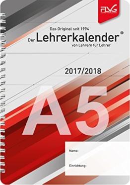A5 Lehrerkalender von Lehrern für Lehrer 2017/2018 -
