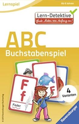 ABC. Buchstabenspiel (Lern-Detektive - Lernspiel) -