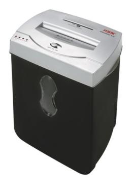 Aktenvernichter HSM shredstar X10, Sicherheitsstufe 4, 10 Blatt (Partikelschnitt) mit CD-Schredder -