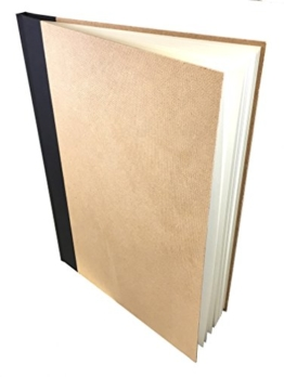 Artway Enviro Skizzenbuch, A4, Recyceltes Material, Recyceltes Papier, 170 g/m², fester Einband, 96 Blatt -
