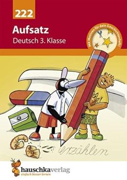 Aufsatz Deutsch 3. Klasse -