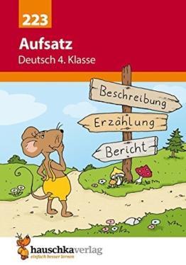 Aufsatz Deutsch 4. Klasse -