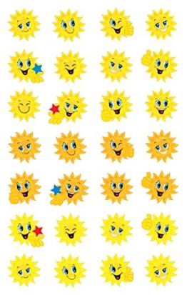 Avery Zweckform 53133 Papier Sticker Sonne 56 Aufkleber -