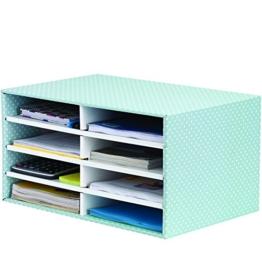 Bankers Box Style Series Schreibtisch Organizer, grün/weiß -