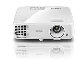 BenQ MS527 DLP-Projektor (3D über HDMI, SVGA, 800 x 600 Pixel, 3300 ANSI-Lumen, Kontrast 13000:1, VGA, Smart Eco) weiß -
