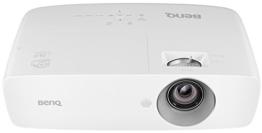 BenQ TH683 Full HD 3D DLP-Projektor (144Hz Triple Flash Beamer, 1920x1080 Pixel, Kontrast 10.000:1, 3200 ANSI Lumen, Football Mode, MHL, HDMI, 1,3x Zoom) weiß -