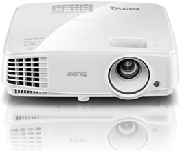 BenQ TW529 DLP-Projektor (Beamer mit 3D über HDMI, WXGA, 1280 x 800 Pixel, 3300 ANSI-Lumen, Kontrast 13000:1, VGA, Smart Eco) weiß -