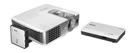 BenQ W1070+W 3D Wireless DLP Projektor (Wireless Full HD Kit, 3D über HDMI, Full HD, 1.920x1.080 Pixel, 2.200 ANSI-Lumen, Kontrast 10.000:1, Vertical Lens Shift, 2x HDMI, 1x MHL, Smart Eco) weiß -