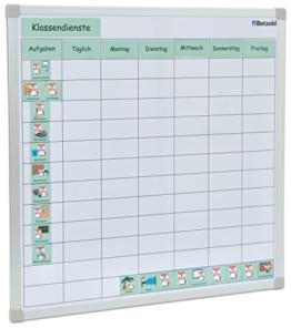 Betzold Klassendienste-Tafelset, Strukturierung der Schulwoche - Klassenzimmer Aufgabenverteilung Lehrer -