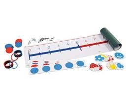 Betzold Magnet Zahlenstrahl im Zahlenraum bis 20 - Mathematik Rechnen lernen Zahlen Schule Kinder Schüler Unterricht Lehrmittel trainieren üben Übungen Rechenaufgaben Mathematikaufgaben -