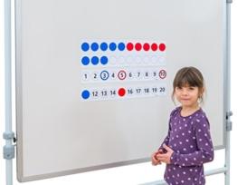 Betzold Magnetischer Demonstrationssatz - Mathematik Rechnen lernen Zahlen Schule Kinder Schüler Unterricht Lehrmittel trainieren üben Übungen Rechenaufgaben Mathematikaufgaben -