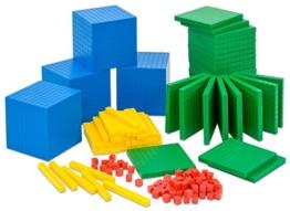 Betzold Systemblöcke Dezimalrechnen, Dezimalwürfel - Mathematik Rechnen lernen Zahlen Schule Kinder Schüler Unterricht Lehrmittel trainieren üben Übungen Rechenaufgaben Mathematikaufgaben Rechenhilfe -