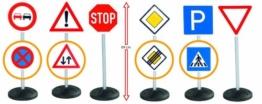 Big 800001198 Signs-Mega-Set, 6-teilig, mehrfarbig -