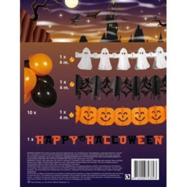 Boland 74389. - Halloween Party Set Luftballons Girlanden -