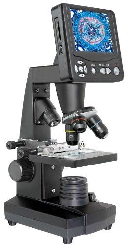 """Bresser LCD-Mikroskop 50x-500x (2000x digital), 5 Megapixel, 8.9cm (3.5"""") LCD Display -"""