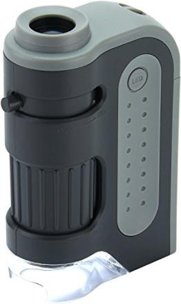 Carson MM-300 MicroBrite Plus 60x - 120x LED beleuchtetes Taschen Mikroskop -