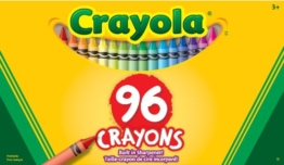 Classic Color Pack Crayons, 96 Colors/Box -