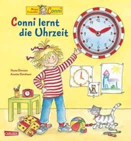 Conni-Bilderbücher: Conni lernt die Uhrzeit -