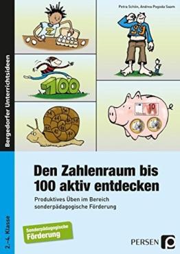 Den Zahlenraum bis 100 aktiv entdecken: Produktives Üben im Bereich sonderpädagogische Förderung (2. bis 4. Klasse) -