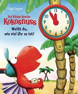 Der kleine Drache Kokosnuss - Weißt du, wie viel Uhr es ist? (Spiel- und Beschäftigungsspaß, Band 2) -