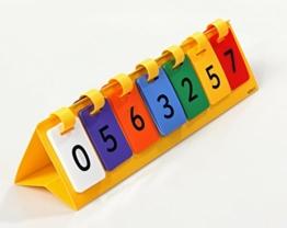 Dezimal Flips - Millionen, Umgang mit großen Zahlen - Mathematik Rechnen lernen Zahlen Schule Kinder Schüler Unterricht Lehrmittel trainieren üben Übungen Rechenaufgaben Mathematikaufgaben -
