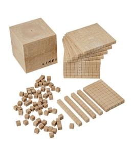Dezimalwürfel Mathematische Würfel Rechenblöcke 121 Teile Schulqualität -