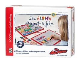 Die Alphas / Die Alphas - Mit allen Sinnen Lesen lernen für alle Kinder von 4 - 7 Jahren: Mit allen Sinnen Lesen lernen für alle Kinder von 4 - 7 Jahren / Die Alpha-Magnet-Tafeln zum ersten Schreiben -