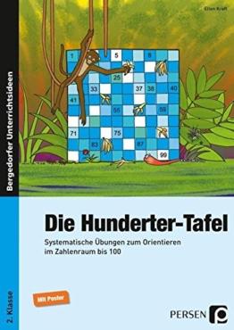 Die Hunderter-Tafel: Systematische Übungen zum Orientieren im Zahlenraum bis 100 (2. Klasse) -