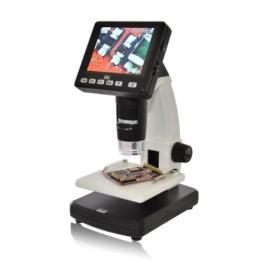 dnt DigiMicro Lab 5.0 Digitalmikroskop (5 Megapixel, 8,8 cm (3,5 Zoll) Display) schwarz -