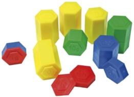 Eduplay 120044 - Gewichte für Waage, Lernspielzeug -