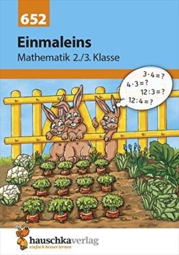 Einmaleins Mathematik 2./3. Klasse -