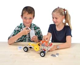 Experimentierkasten Alternativer Antrieb mit Brennstoffzellen, Physik, Schule, Kinder, Experimente Unterricht, Lehrmittel, für 22 Bewegungsmodelle/Fahrzeuge, 90-teilig, inkl. 64-seitiger Handreichung -