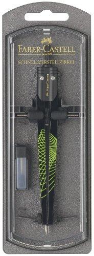 Faber-Castel 174488 - Schnellverstellbarer Zirkel Ultra AWF in Plastikbox -