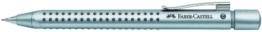Faber-Castell 131211 - Druckbleistift GRIP 2011, Minenstärke: 0,7 mm, Schaftfarbe: silber -