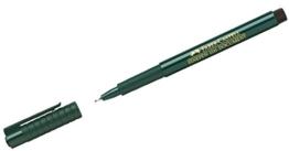Faber-Castell 151199 - Faserschreiber Finepen 1511, 0.4 mm, schwarz -