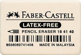 Faber-Castell 184140 Radiergummi 7041-40 34x26x8mm -