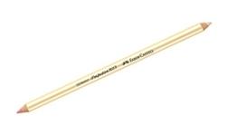 Faber-Castell 185712 - Radierstift Perfection 7057, doppelseitig -