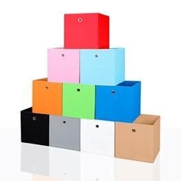 Faltbox Faltkiste Regalkorb Regalkiste Regalbox Aufbewahrungsbox Spielkiste Staubox Korb, Farbe:pink -