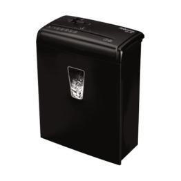 Fellowes Powershred M-3C Aktenvernichter, Schneidleistung: 6 Blatt, Partikelschnitt, Sicherheitsstufe P-4, schwarz -