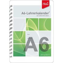 FLVG - Lehrerkalender DIN A6 - Schuljahr 2016 - 2017 - Schulplaner - Lehrertimer -