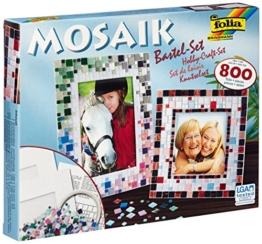 Folia 57019 Mosaik-Bastel-Set, �ber 800 Teile -