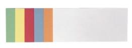 Franken UMZ 1020 99 Moderationskarte (Rechteck) 205 x 95 mm, 500 Stück, sortiert -