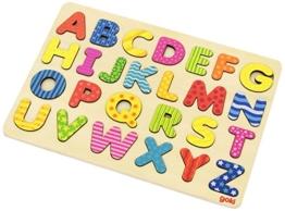 Goki 57672 - Alphabetpuzzle -