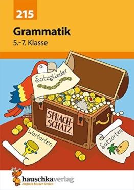Grammatik 5. - 7. Klasse. -