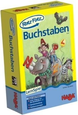 Habermaass 4536 - Haba Ratz-Fatz Buchstaben, Spiele und Puzzles -